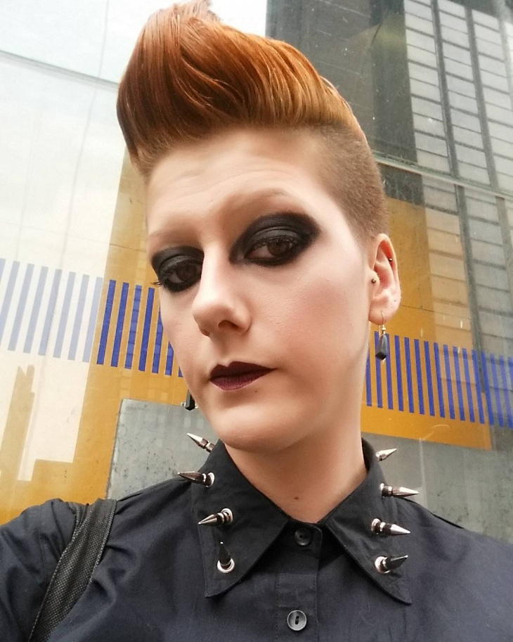 Goth Punk Makeup