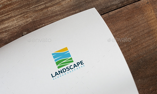 Landscape Nature Logo Template