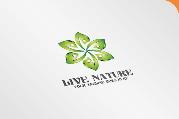 Live Nature Logo Design