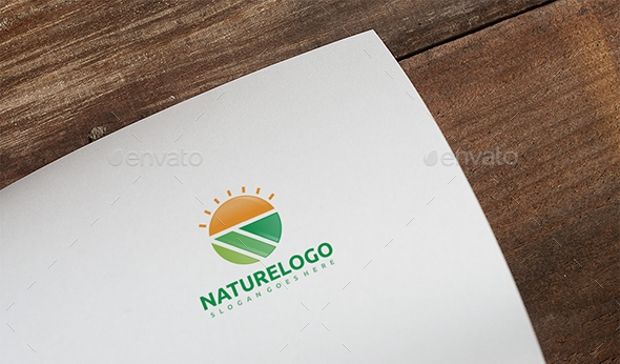 Eco Nature Logo Template