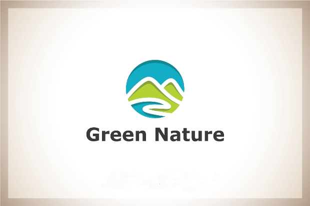 High Resolution Green Nature Logo