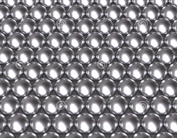 Silver Metalic Ball Texture