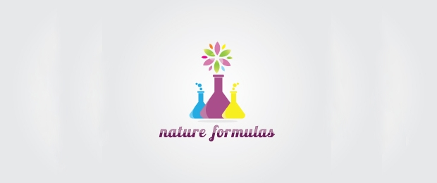 Nature Formulas Logo Template