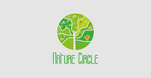 Nature Circle Logo Design