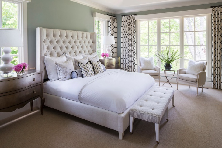 feminine bedroom interior design