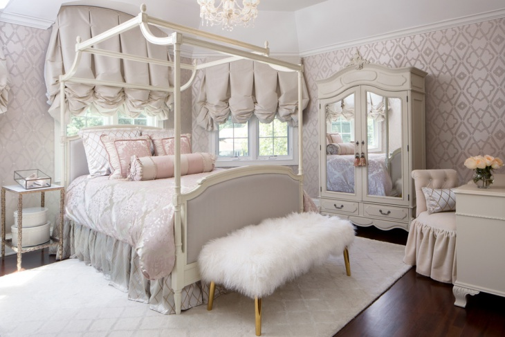 18+ Feminine Bedroom Designs, Ideas