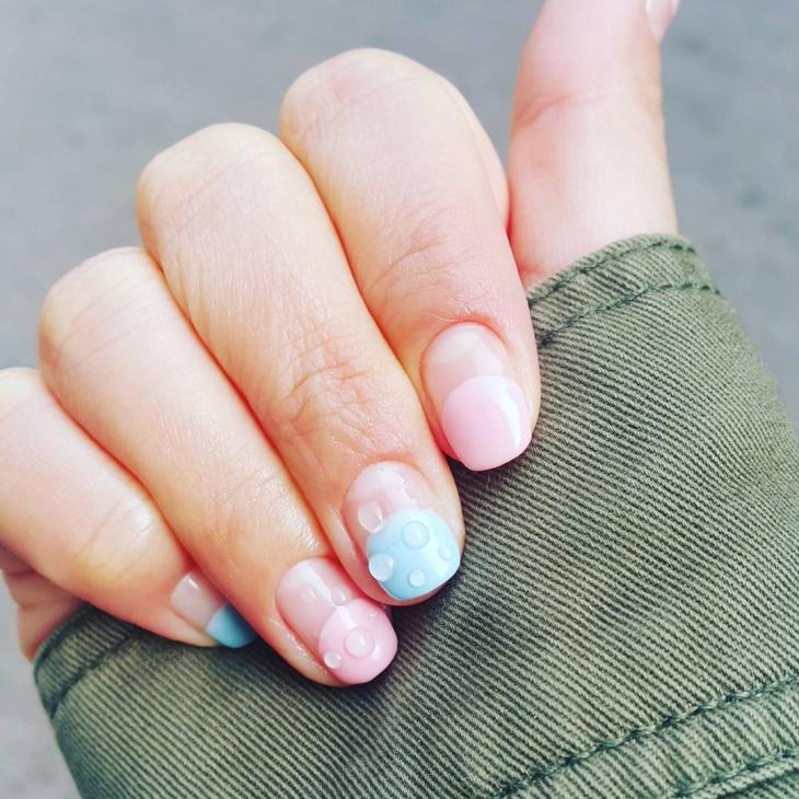 tip water drop nail art