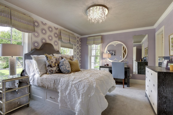 country feminine bedroom decor