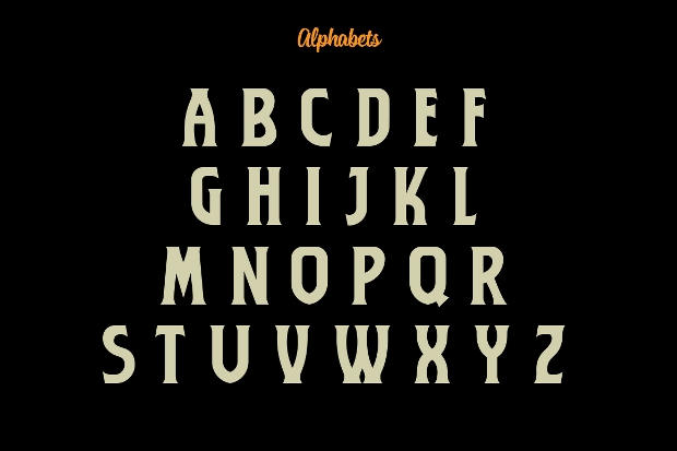Classic Marathas Typeface Font