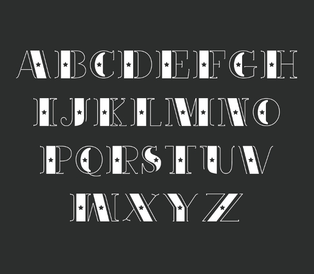 Classic Decorative Font