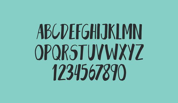 handwritten classic font