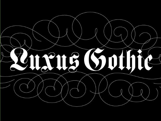 black classic font