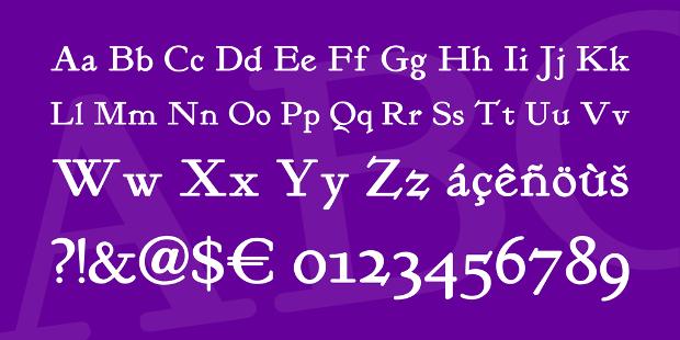 bold classic font