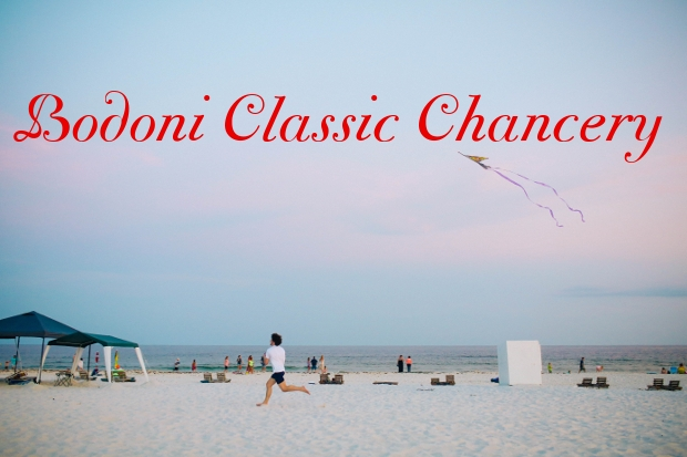 Classic Chancery Font