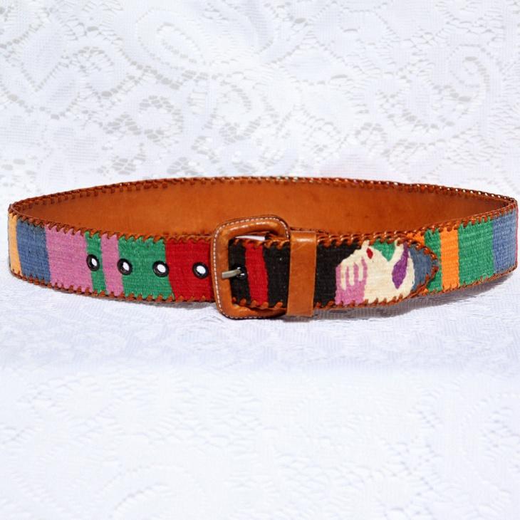 Aztec Print Belt Design