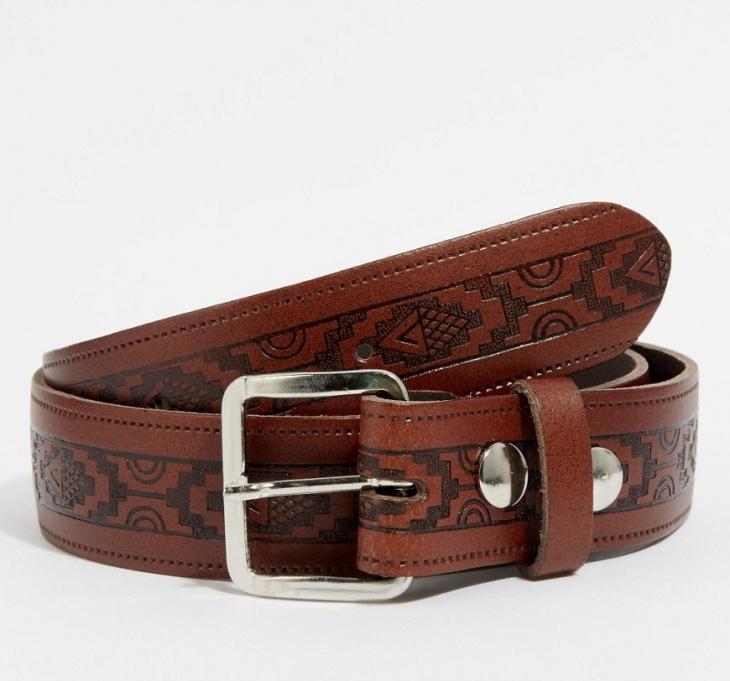 asos aztec belt design