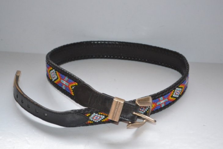 black aztec belt idea