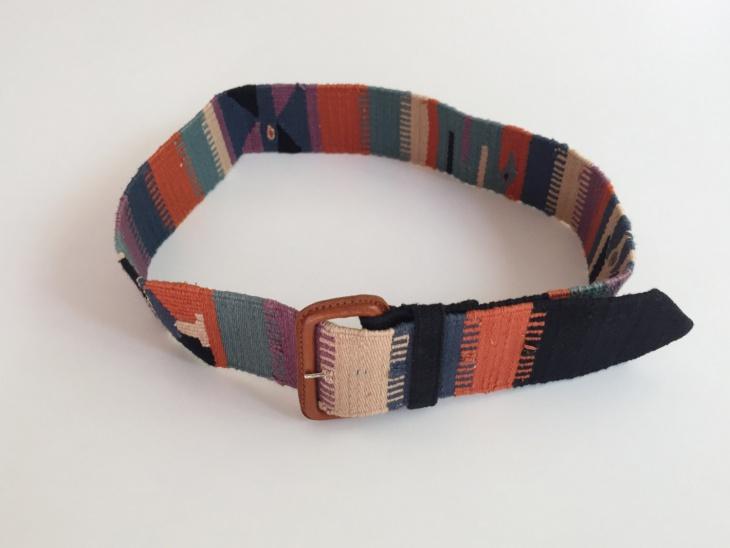 vintage style aztec belt