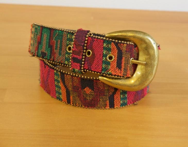 Colorful Aztec Belt Design