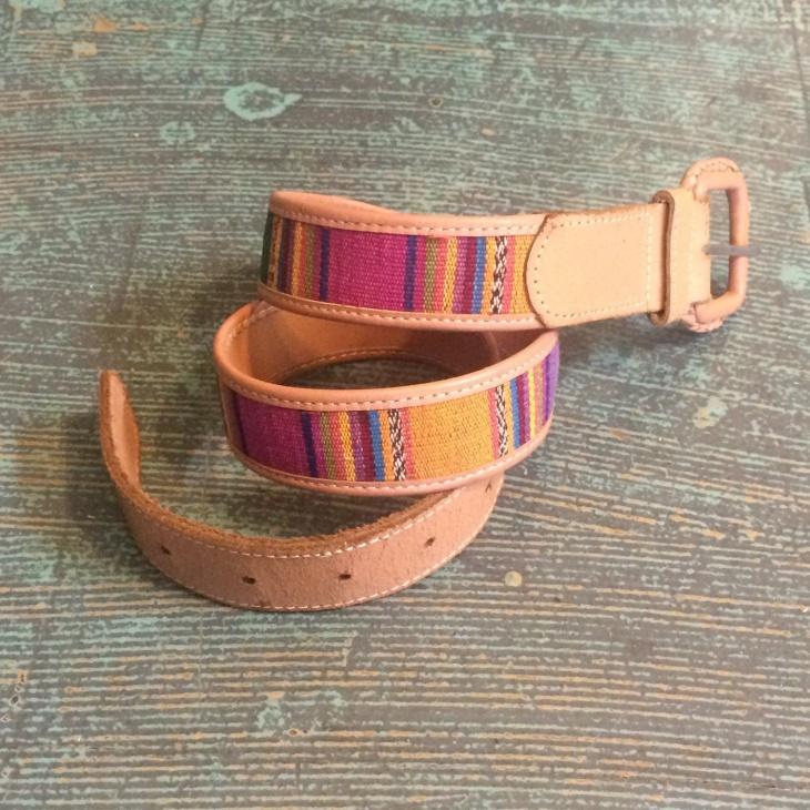 boho style aztec belt