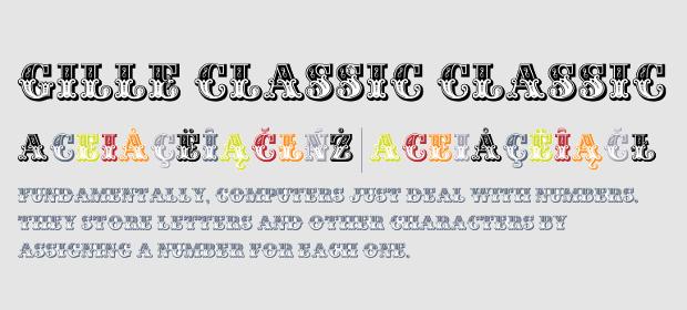 Stylish Classic Font