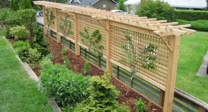 18 garden trellis designs ideas design trends for Trellis design ideas