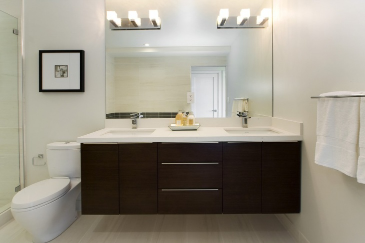 contemporary bathroom vanity lighting modern bathroom vanity light design contemporary lighting designtrends - Images Of Bathroom Vanity