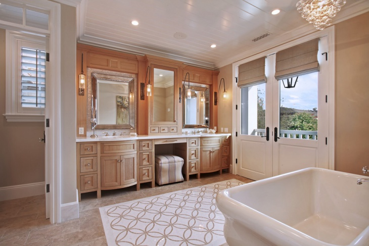 Master Bathroom Vanity Light