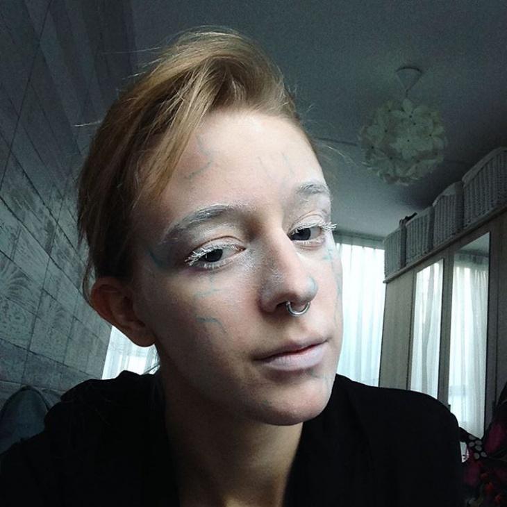 Snow Makeup for Men