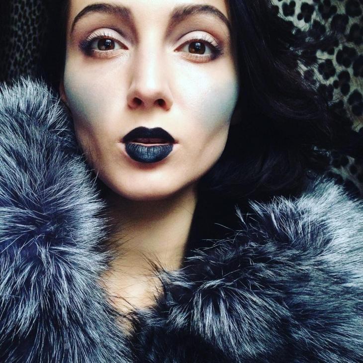 Snow Blush Makeup