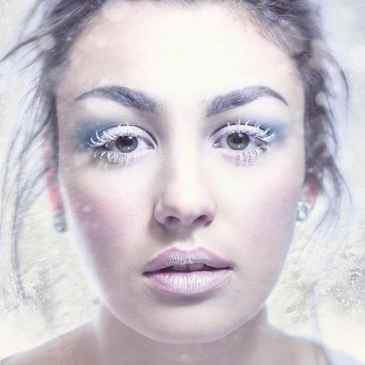 Snow Face Makeup
