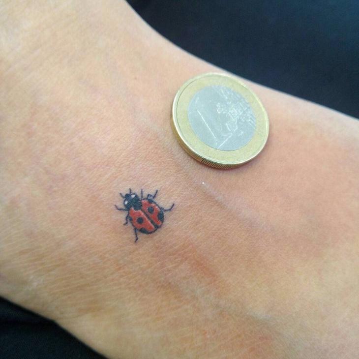 Small Ladybug Tattoo