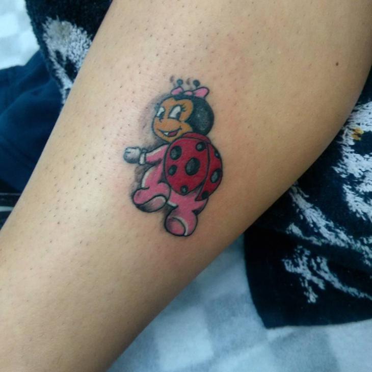 Pretty Ladybug Tattoo