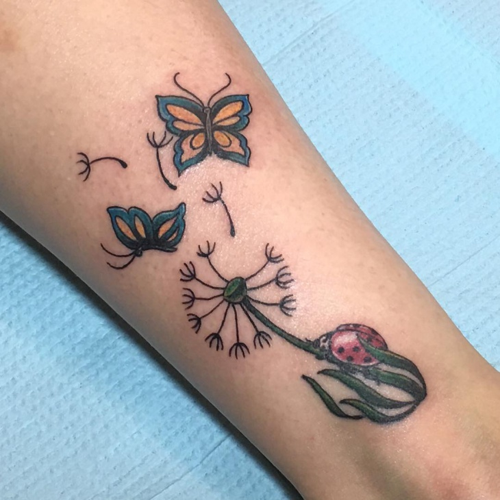 beautiful butterfly tattoo design