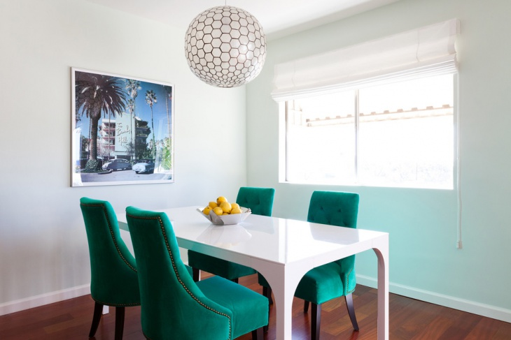 20 Turquoise Dining Room Designs Ideas Design Trends