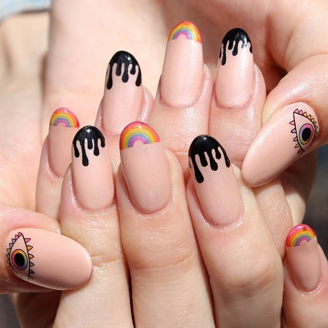 Drip Nail Art Best Nail Designs 2018