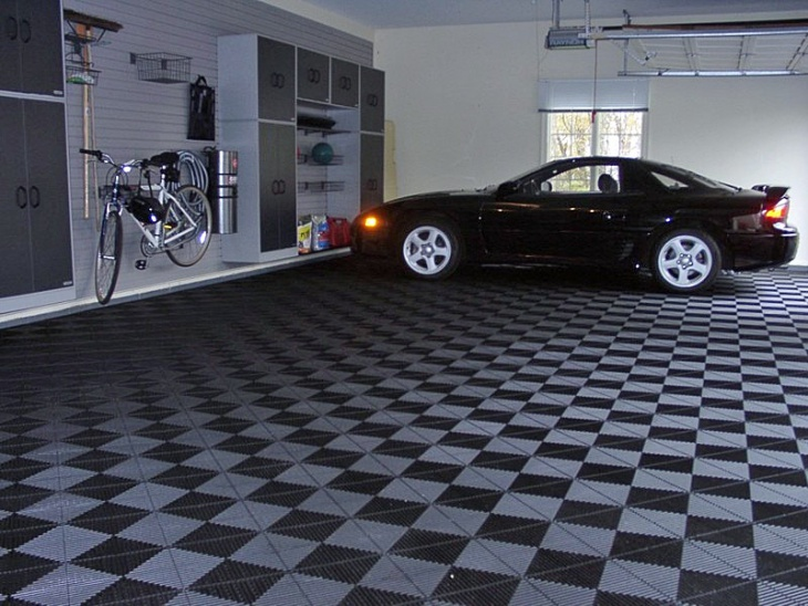 20 Garage Flooring Tile Designs Ideas Design Trends