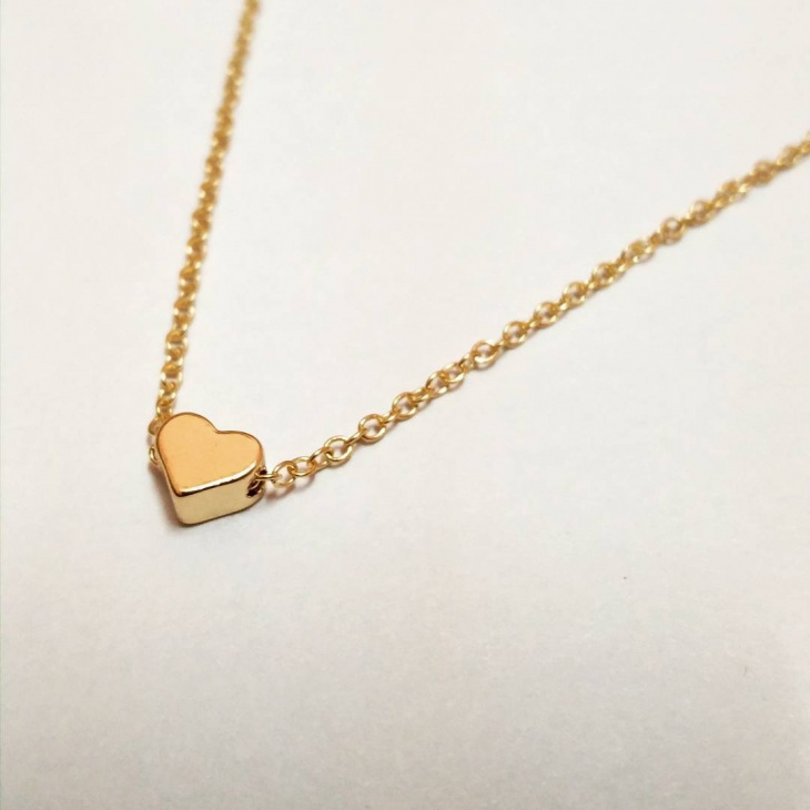 Gold Heart Pendant Design