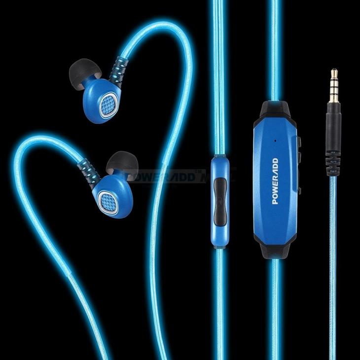poweradd glowing headphones