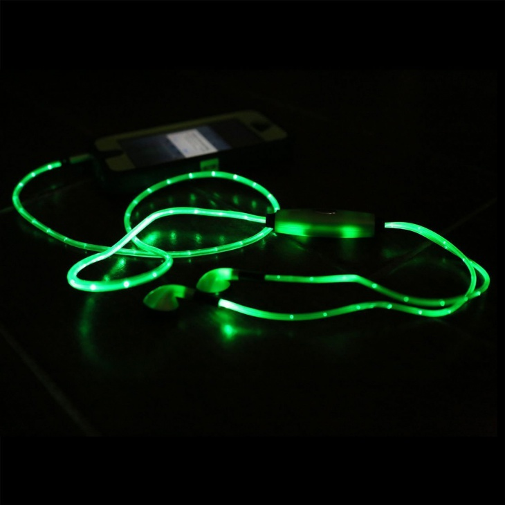 qkill illuminated light up headphones
