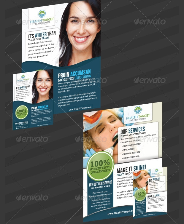 medical dental flyer