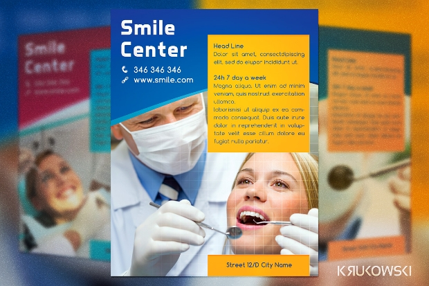 smile centre dental flyer
