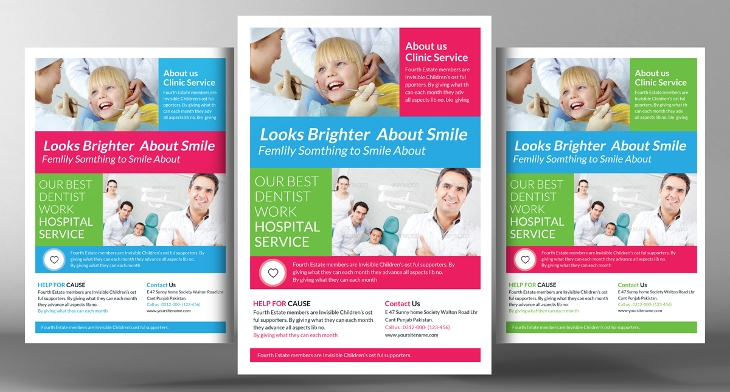20 Dental Flyer Templates Printable Psd Ai Vector Eps Format