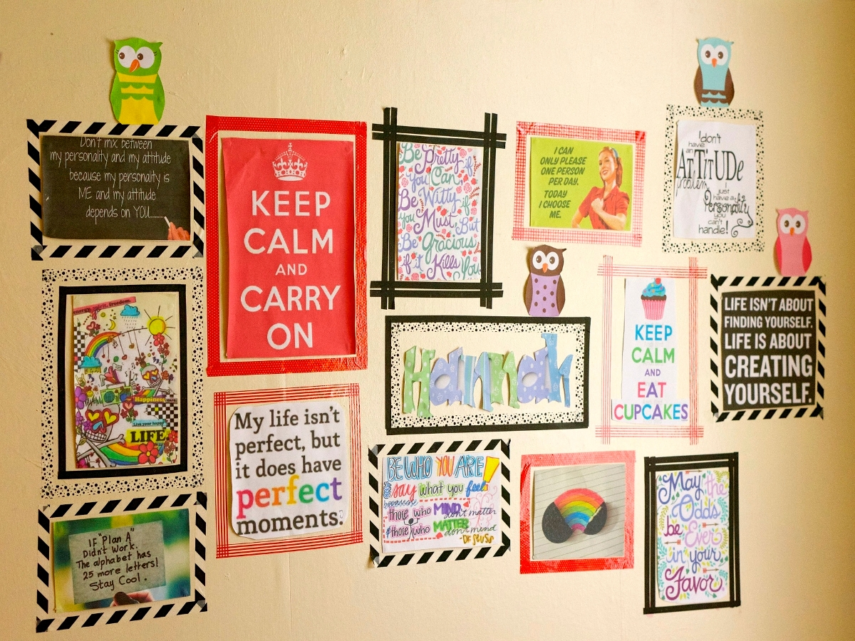 1. Washi Tape Photo Frames