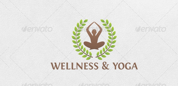 Yoga and Wellness Logo