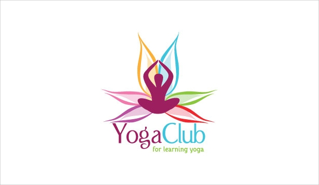 Yoga club Logo Design