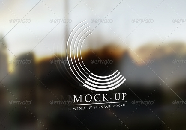 realistic window mockup