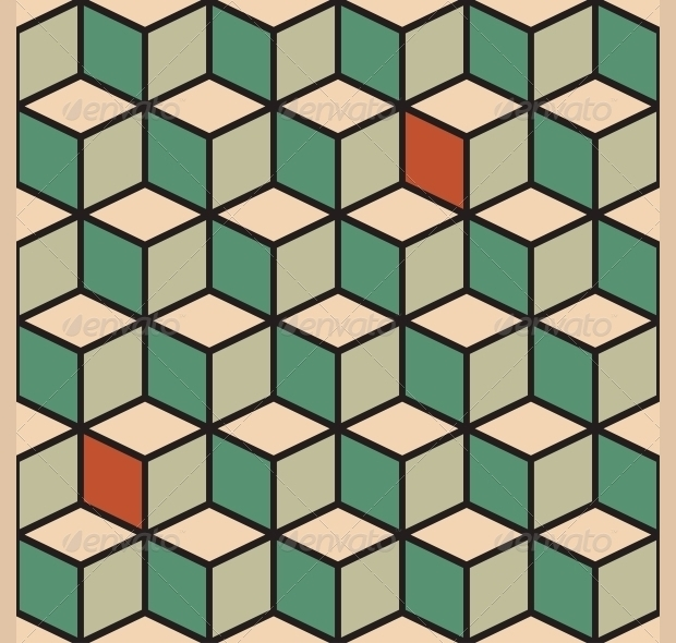 high resolution cubes pattern