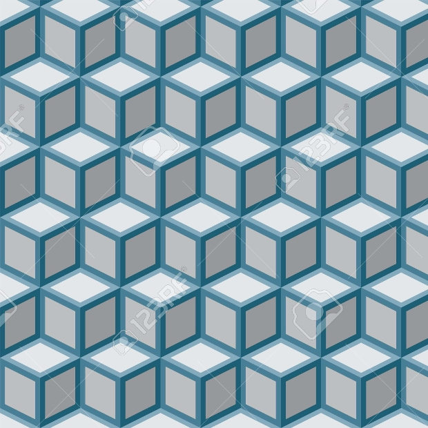 repetitive cube pattern