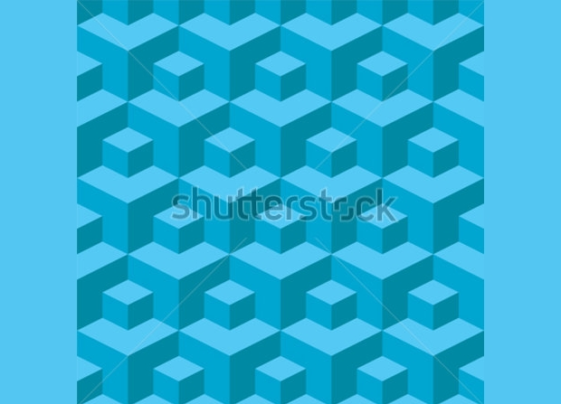 high quality cube pattern